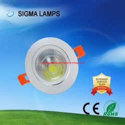 Sigma Résidentiel haut Lm 3W 5W 7W 9W 12W 15W Ampoule au plafond Bombillas Lampada Luz Foco Luminacion Lampara de COB LED Spot