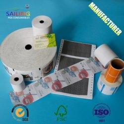 Кассовом документе Тепловой рулона бумаги (80x80мм 80x70мм 57x50мм 57x40мм)