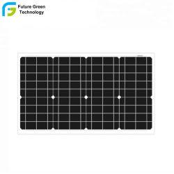 30 watts mono de estoque painel solar com preço barato