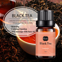 Cura della pelle 10 ml di olio di tè nero profumo olio essenziale OEM, ODM.