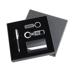 مجموعة هدايا مخصصة للشركات مع علبة تنفيذية لمحرك أقراص USB