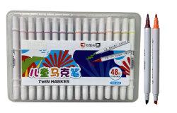 48 цветов специализированные торговые марки Twin маркер для студенческих канцелярские питания