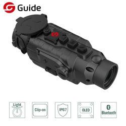 دقة عالية في توجيه البنادق الصغيرة مزدوجة الاستخدام نطاق أشعة تحت الحمراء ليلة أحادية الخلية كاميرا الرؤية للتصوير الحراري للصيد
