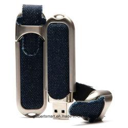 Disco istantaneo del USB di stile su ordinazione superiore dei jeans (GBT-A135)