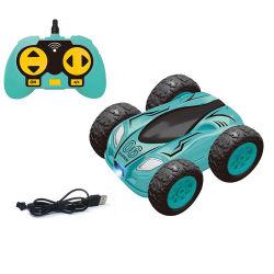 2020 Nuevo control remoto de 2.4G Tumbling Stunt Double Side Car Coche RC de juguetes para niños