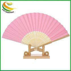 Personalizado promocional impreso en papel artesanal de bambú Abanicos