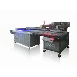 Полностью автоматический шелк печатной машины с помощью светодиодной УФ осушителя