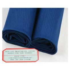 Baumwollzweikerngarnspandex-Gewebe für beiläufige Hosen/Kleid/Kleidung