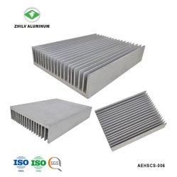 Profil aluminium extrudé anodisé Rue lumière LED Dissipateur de chaleur avec l'usinage CNC
