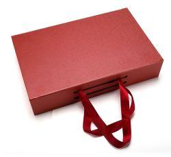 Los cosméticos Ver Logotipo personalizado Caja de regalo de papel, impresión de nuevo diseño estilo libro, Cuadro de cosmética de lujo
