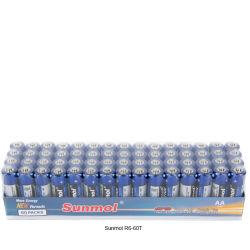 De Droge Batterij van de Batterij aa van het Zink van de koolstof Um3 1.5V R6
