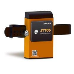 Conteneur de verrouillage GPS intelligent GPS GPS tracker de verrouillage de joint pour récipient de solution de surveillance et de la sécurité du fret