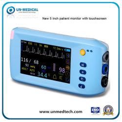 (UN2000B) Больница Медицинского ICU личный уход с сенсорным экраном монитора пациента с технологией Bluetooth