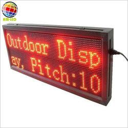 LED-bewegliche Meldung-Text-Zeichen-Bildschirmanzeige