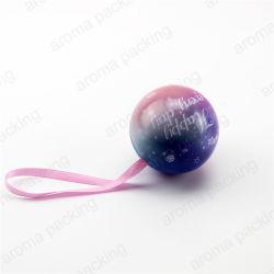 بالجملة كرة شكل تخزين معدن قصدير وعاء صندوق لأنّ هبة