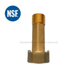 1/2''-2''Certificado NSF Medidor de agua libre de plomo el acoplamiento de Material de bronce o latón.