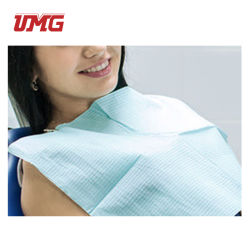 هوت سويل 3رد مضاد للماء Disposable Dental Patient Bib Dental Material