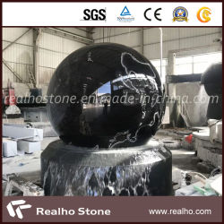 Fontana di pietra della sfera di galleggiamento della sfera di Fengshui da vendere
