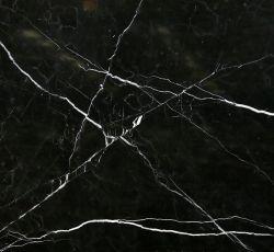 Высокое качество Китай черного мрамора с белыми вен