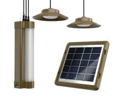 2 lâmpadas de LED/2020 Shandong Fabricante/Factory 4W/5V Sistema de Energia Solar Portátil/Kit lâmpada LED de iluminação LED Solar Luz de LED