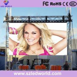 Для использования вне помещений / для использования внутри помещений реклама полноцветный светодиодный дисплей видеостены Панель экрана на аренду / супермаркет / Store (P РП3.91 P4.81 P5.95 P6.25)
