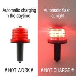 Clignotement de la LED étanche durables La sécurité du trafic de solution phare pour barrage