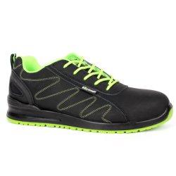 Ce сертифицирована горячей продавать новый стиль черный Нубук промышленная Рабочая защитная обувь для мужчин (SN5850 обладают новейшими функциями)
