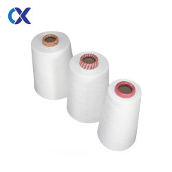 Het gesponnen Gesponnen Garen 40s/3 van de Polyester Ring met Document en het Sterven Kegel