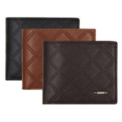 Fabricant Men's Fashion Portefeuille en cuir véritable Smart