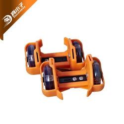 Для использования вне помещений спортивной обуви на заводе красочные Custom два колеса скейт-ролика