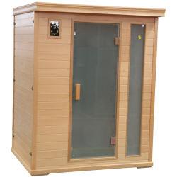 Het houten Huis van de Sauna voor het Vermageringsdieet van het Lichaam als Apparatuur van de Geschiktheid
