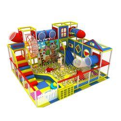 Größen-Sicherheits-lustiges kleines Kugel-Pool-Kind-Plastikplättchen-Innenspielplatz-Geräten-Spielwaren des Fabrik-Preis-6.5m*7.5m*4.5m