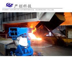 Les aciéries four à induction de la sidérurgie chargeur traduire de la ferraille de véhicules