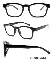 Square-Framed lunettes de lecture lunettes avec Demi (M75457)