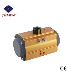 Chinese Wuxi Pneumatische Actuator van de Kwartdraai van de Fabrikant Rechts