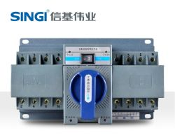 220V 2pole 50/60 Hz 6ka Transferencia automática cambiar