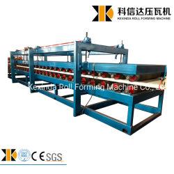 La fabricación de paneles sándwich de lana de roca de EPS máquina Z Sandwich de bloqueo de la producción de techo