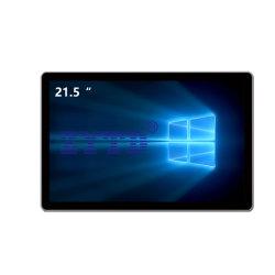 """21.5 """" Industriële IP65 PC van het Voorpaneel FHD met de Functie van de Aanraking Pcap"""