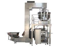 ماكينة تعبئة الوسـادة الدوارة التلقائية المُصنع آلة تكديس الوسـادة بالنسبة إلى آلة تغليف كيس غرانول زبر