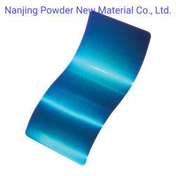 Film de revêtement solide de pulvérisation électrostatique haut brillant revêtement de poudre de polyester de plein air