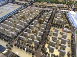 Architecturale modelbouw van Smart City Commercial complex
