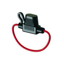 De auto Mini Rode Houder van de Zekering van Draden in-Line Gealigneerde voor Auto