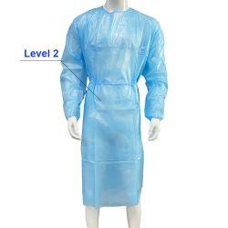 AAMI المستوى 2 المصنع حماية مباشرة PP 40GSM مصفح عزل الجراحة المقاومة للماء للاستخدام مرة واحدة