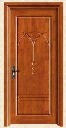 ヨーロッパ様式のクラフトのパネルによって切り分けられるドアの純木のキャビネットドア