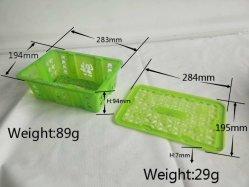 Verwendete Handfrucht-Rahmen-Form der Frucht-Korb-Form-zweite mit Kappen-Form