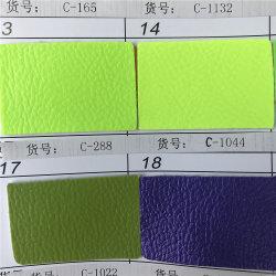 قماش Snakeskin مقاوم للمياه، الجلد الصناعي PU/PVC المتين للأحذية كرة القدم الجلد