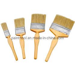 La Chine de gros pinceau à poils de la poignée en bois de l'outil de nettoyage