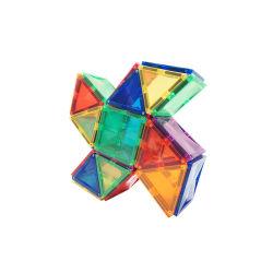 سعر الجملة التنافسية البلاستيك مبنى مغناطيسي كتل ألعاب المربعات