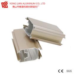 Extrusão de alumínio Perfil para materiais de construção com certificação CE