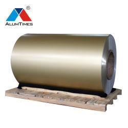 het Dikke Hout van 3mm/Ral Kleur 1100 H24 het Blad van het Aluminium van de Verf van PVDF voor het Geperforeerde Comité van de Muur